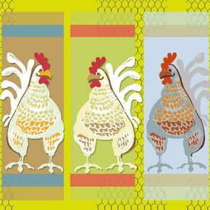 Pop Art Chicken Coop