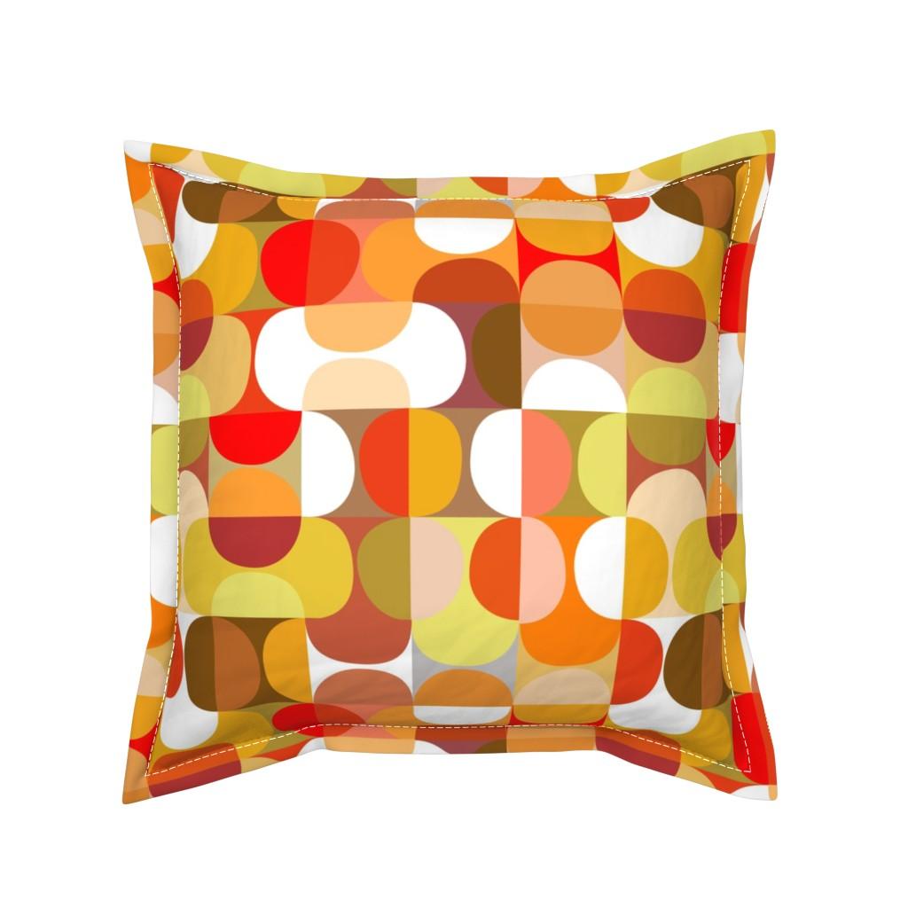 Serama Throw Pillow featuring slices - citrus by kurtcyr