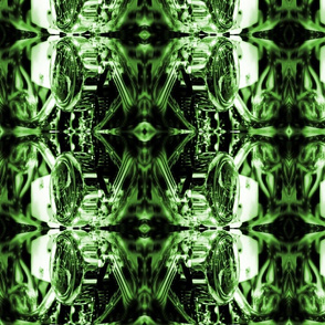 chrome-motorcycle=green