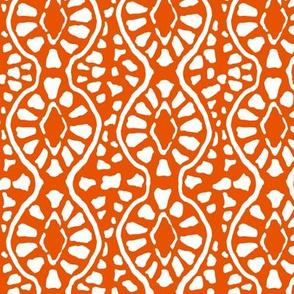 Cobblestone Trellis Orange