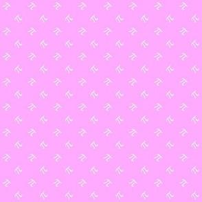 tiny pi diamonds (sweet pink)