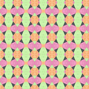 Pastel With Black Triangles