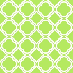 Penny's Trellis Apple Green