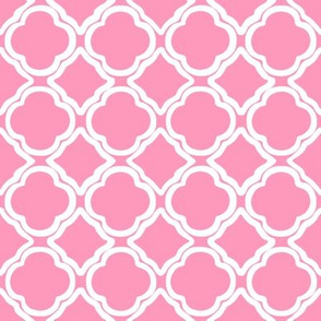 Ogee Trellis Pink