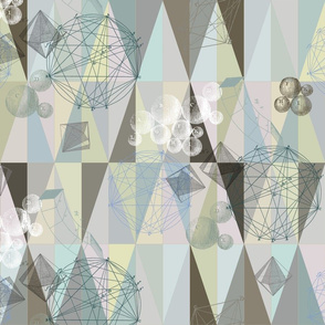 small pastel geometry
