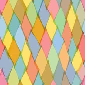 Tissue paper harlequin
