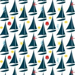 She Sails Seeking Shells
