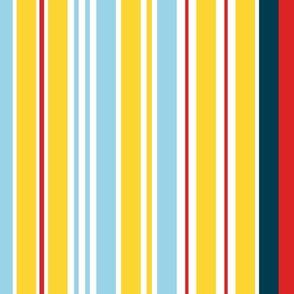 Sure Sails Yellow Stripe