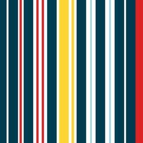 Sure Sailing Blue Stripe