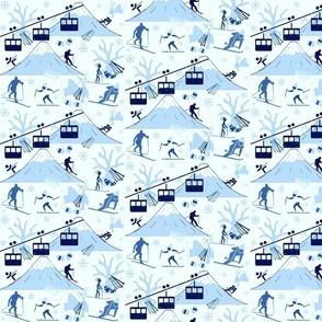 BLUE MOUNTAIN SKIING