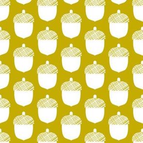 Acorn - yellow