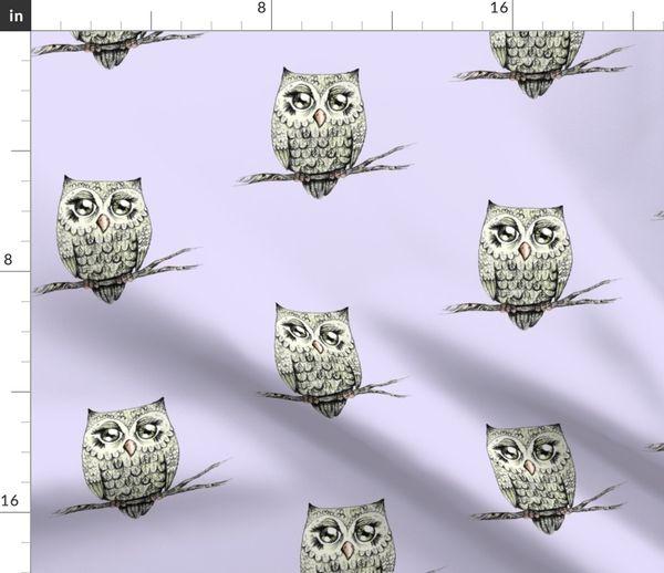 3  Servietten Weihnachten Woodland Owl Eule auf Ast