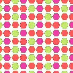 Hexadots! - Summertime Fun! - Watermelon - © PinkSodaPop 4ComputerHeaven.com