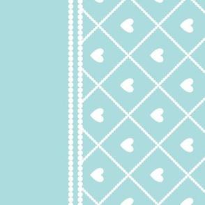 Never Far Away - Border Fabric (color: sugar ice)