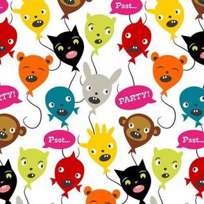 Birthday Party ~ Balloon Animals