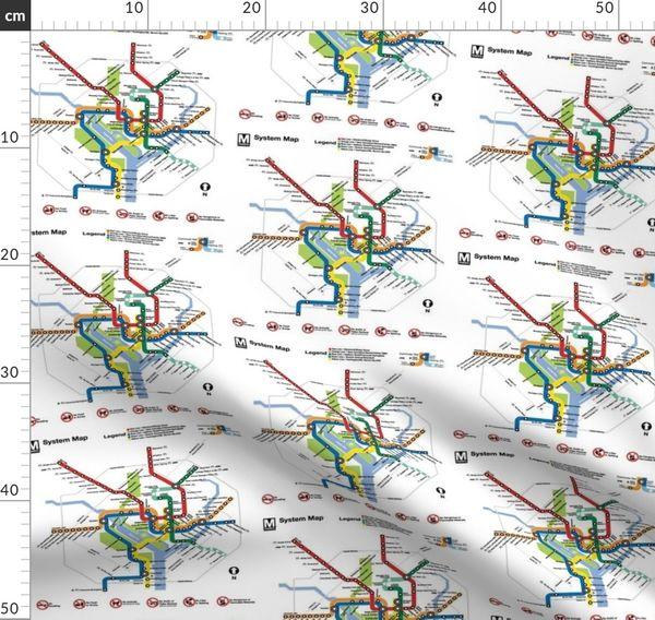 Fabric by the Yard DC metro map large on bay area rapid transit, baltimore metro subway, rapid transit, maryland map, printable d.c. metro map, marc train, la metro map, df metro map, dulles airport metro map, u street metro map, moscow metro, dmv metro map, orange line, washington map, adams morgan metro map, union station, marc train map, montreal metro, red line, yellow line, new york city subway, ok metro map, de metro map, shanghai metro, wmata metro map, boston metro map, fairfax county, alexandria map, green line, metro center, blue line, washington metropolitan area, northern va metro map, virginia map, ca metro map, san fran metro map, los angeles metro map,