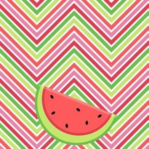 Chevron Watermelon Slices! - Summertime Fun! - Watermelon - © PinkSodaPop 4ComputerHeaven.com