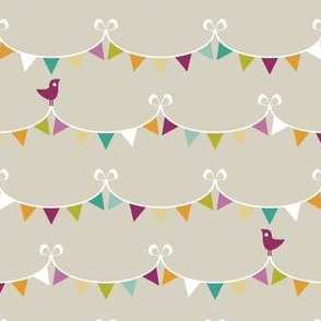 Party Animals Collection - Bunting (Dark)