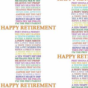 retirementanagrams