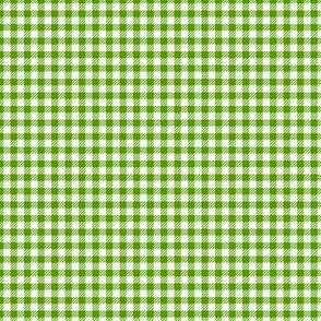 Leaf-Green_and_White_Eighth-inch Checks