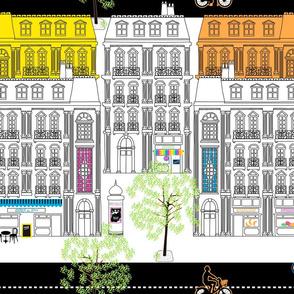 Boulevard Haussmann Fluo&White