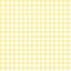pale sunshine gingham