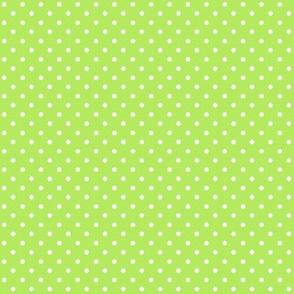 Swiss Dots Floral Green