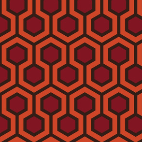 Overlook Hotel Hallway Carpet Large