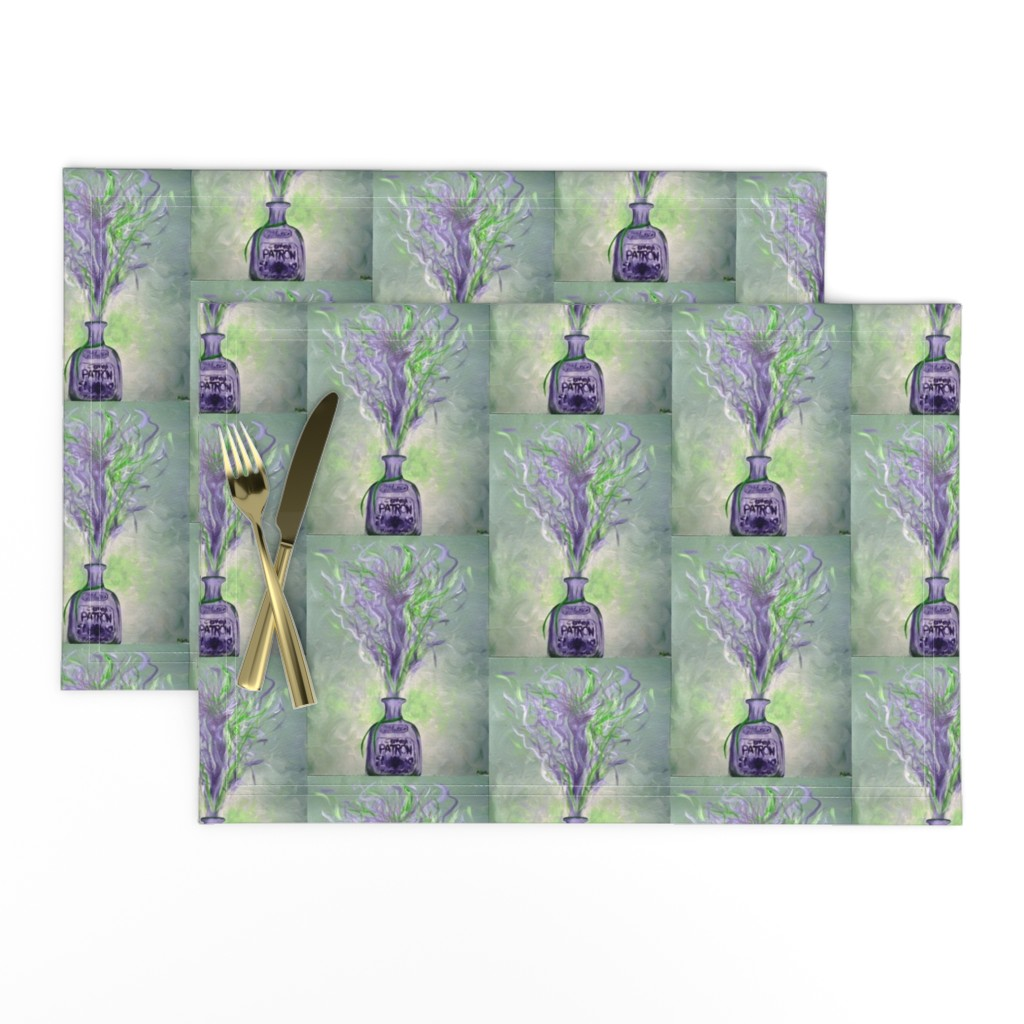 Lamona Cloth Placemats featuring Patron Silver Goddess by alyscea