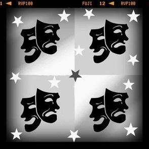 Theater Masks 3