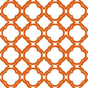 Ogee Trellis Tangerine
