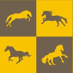 Horse Chess Goldenrod