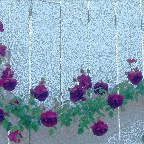 Fence of Roses1