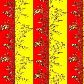 Bamboo Red&Yellow