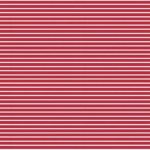 Sugar Stripe - Red
