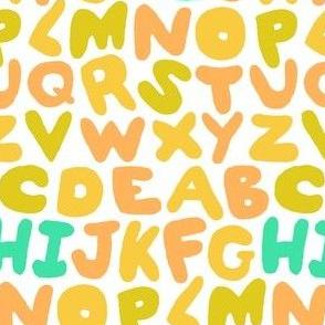 Alphabet Puffs