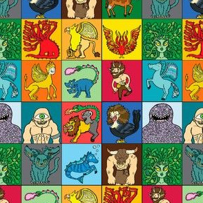 Ancient Greek Monsters