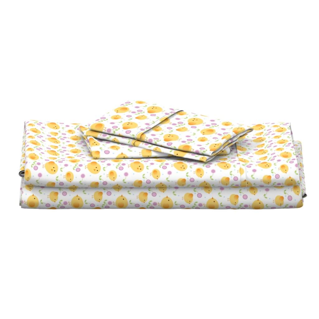 Langshan Full Bed Set featuring chicks by cindylindgren