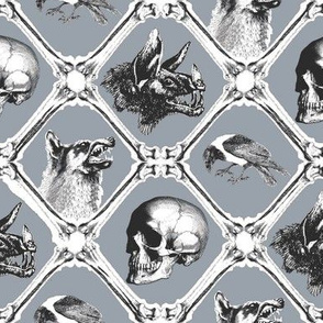 crows,wolfes, bats and bones 2