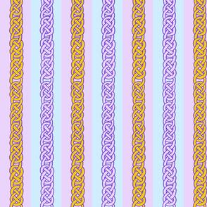 celtic ribbons 1 blue/violet