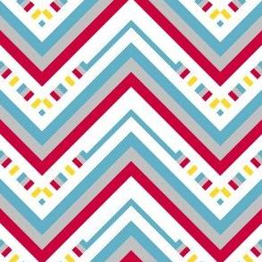 Chevron Striped Stripes! - Sweet Birds of Summer - Summer Party - © PinkSodaPop 4ComputerHeaven.com