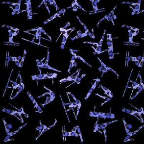gymnastleopardblue