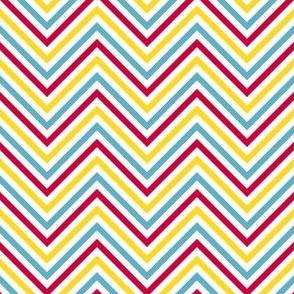 Chevron Stripes! - Sweet Birds of Summer - Summer Party - © PinkSodaPop 4ComputerHeaven.com