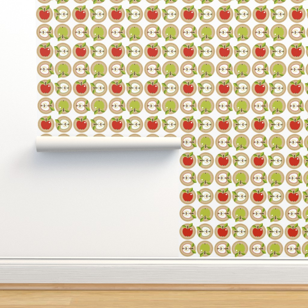 Isobar Durable Wallpaper featuring Snow white or Granny Smith?! by moirarae