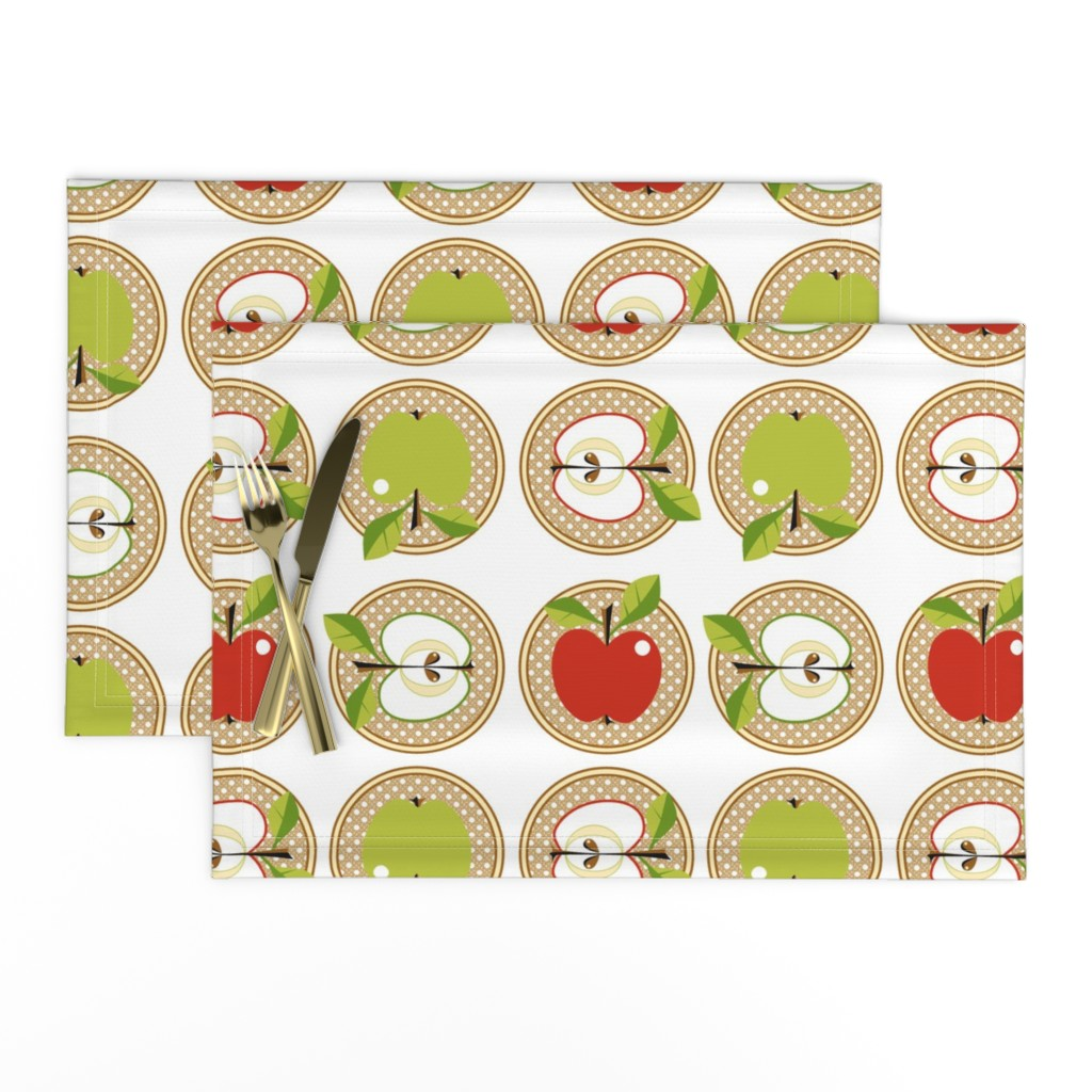 Lamona Cloth Placemats featuring Snow white or Granny Smith?! by moirarae