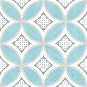 Mexican Mod Tile - blu