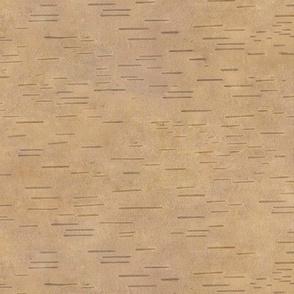 golden brown birchbark