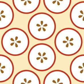 cut apples S43X