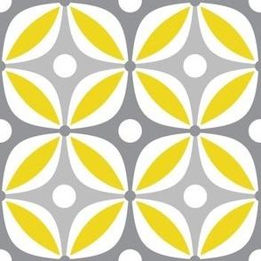 Lemon Peels - Mod Wallpaper - Three Color