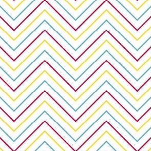 Chevron Mini Skinny Stripes! - Sweet Birds of Summer - Summer Party - © PinkSodaPop 4ComputerHeaven.com